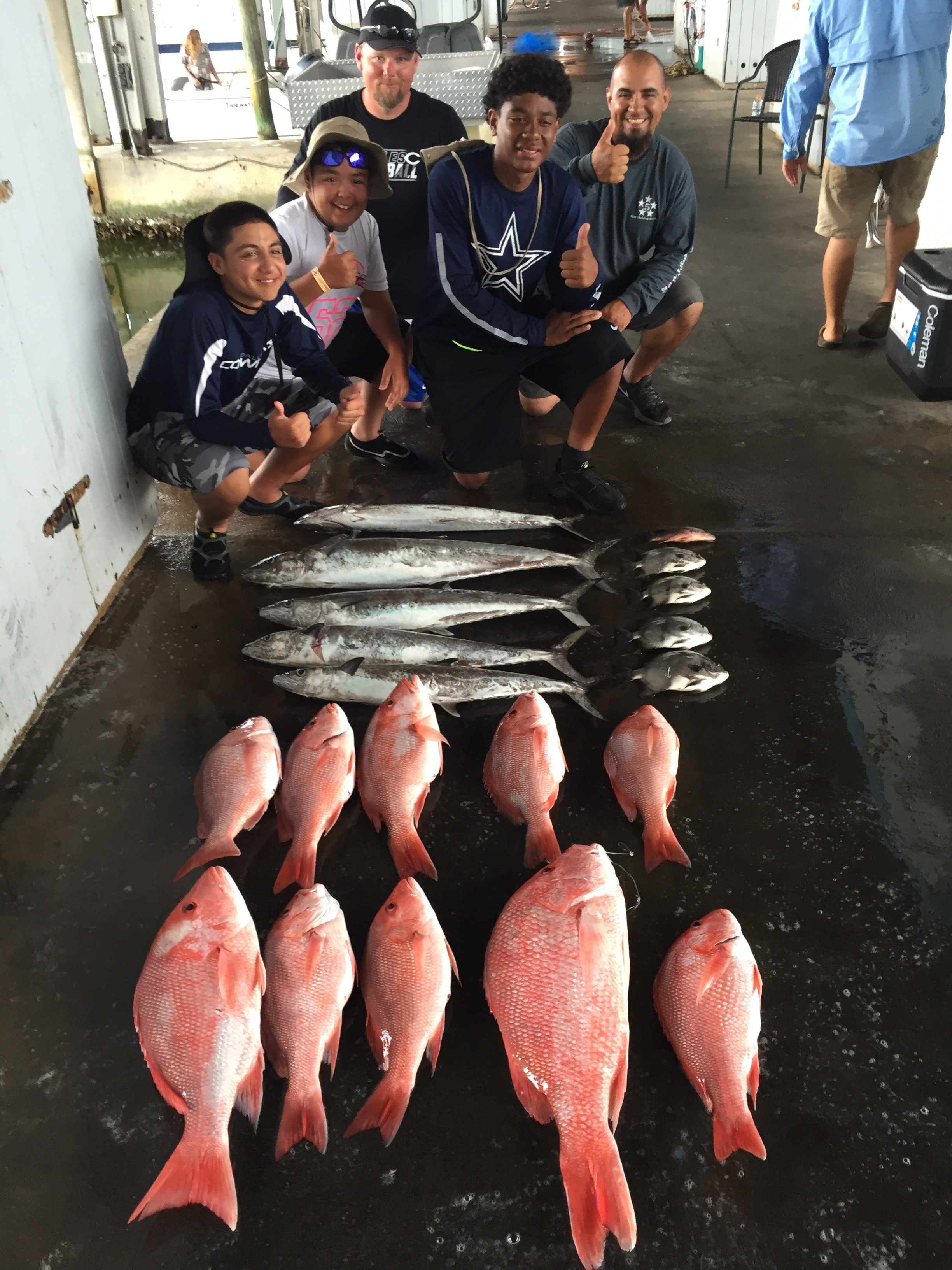 Galveston offshore fishing