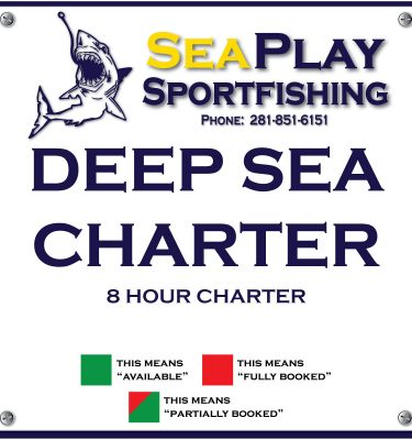 Deep Sea 8 Hour Charter