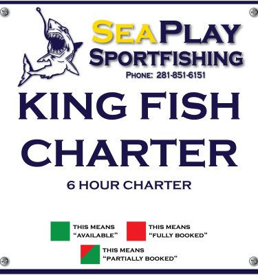 King Fish 6 hour Charter