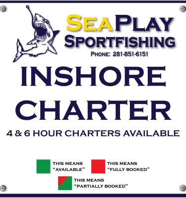 Inshore 4&6 Hour Charter